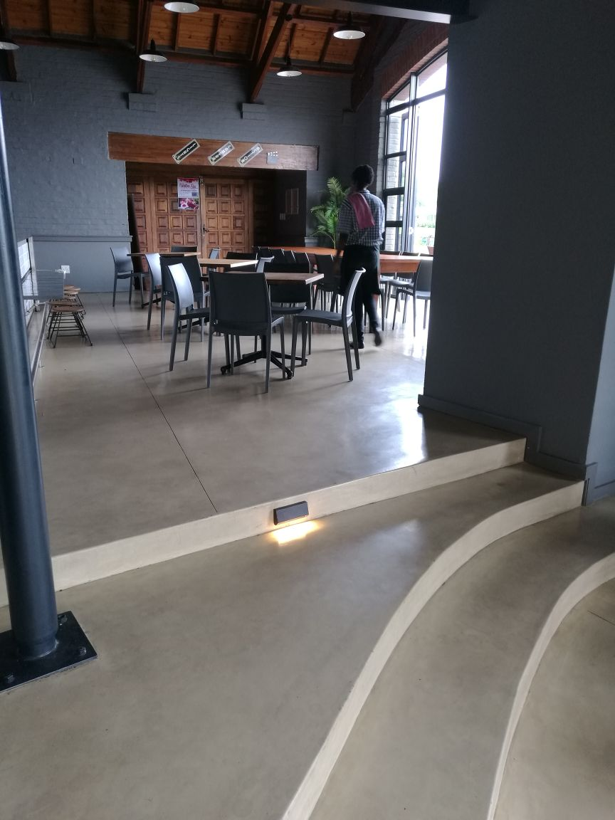 Deco Floor | Cedar Lakes Clubhouse
