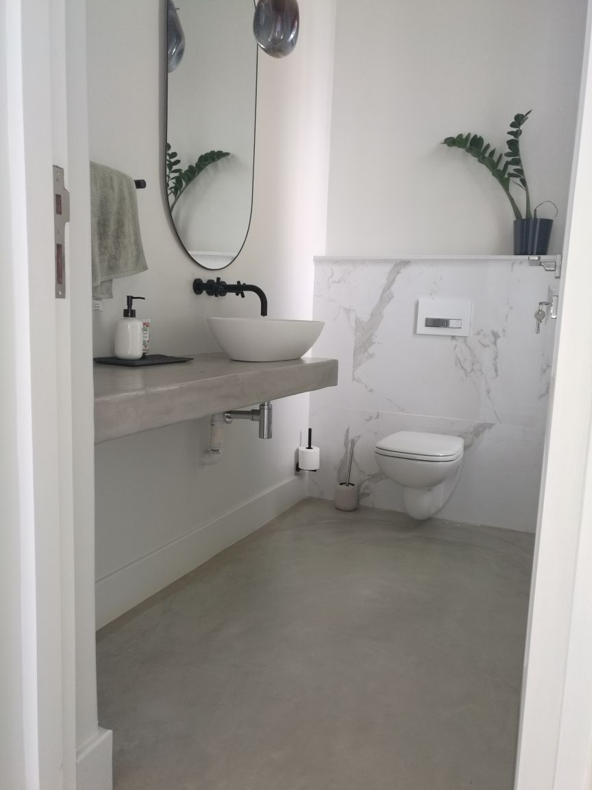 Deco Floor | Guest WC