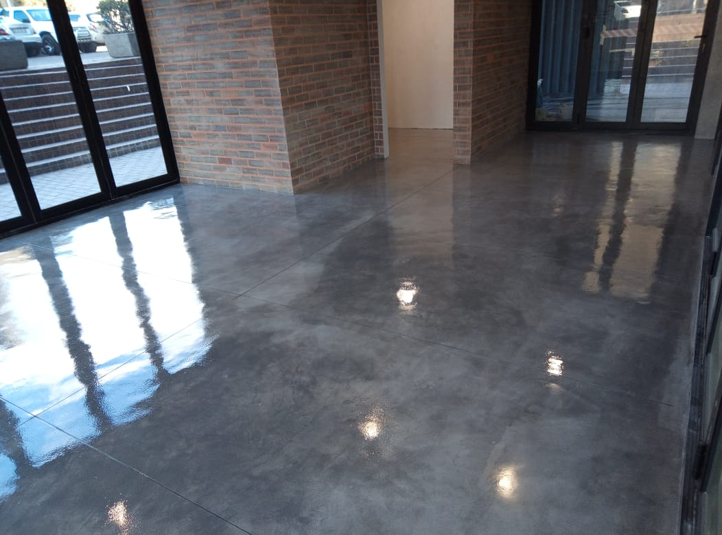 Deco Floor | Dove Grey Light Owl Street