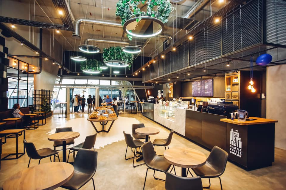 Concrete | Deco Floor | Seattle Coffee Rosebank